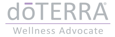 I am a DoTERRA Wellness Advocate