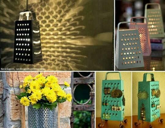 Come riciclare una grattugia | DIY ideas: grater