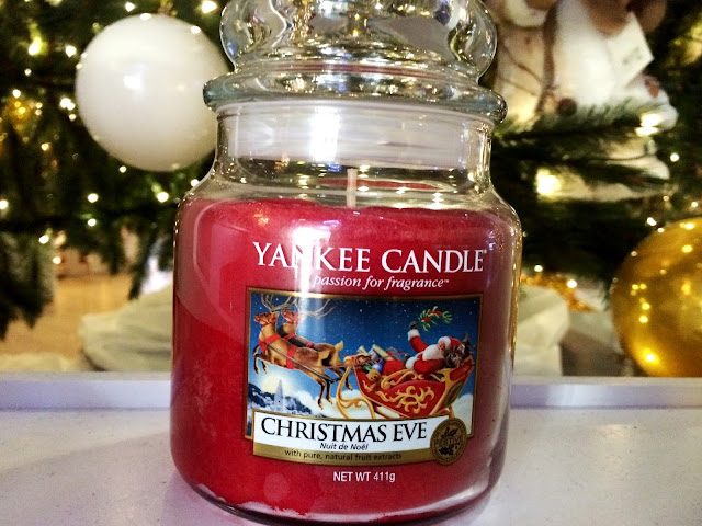 avis christmas eve yankee candle