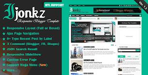 MKRflat - Responsive Magazine/News Blogger Theme - 9