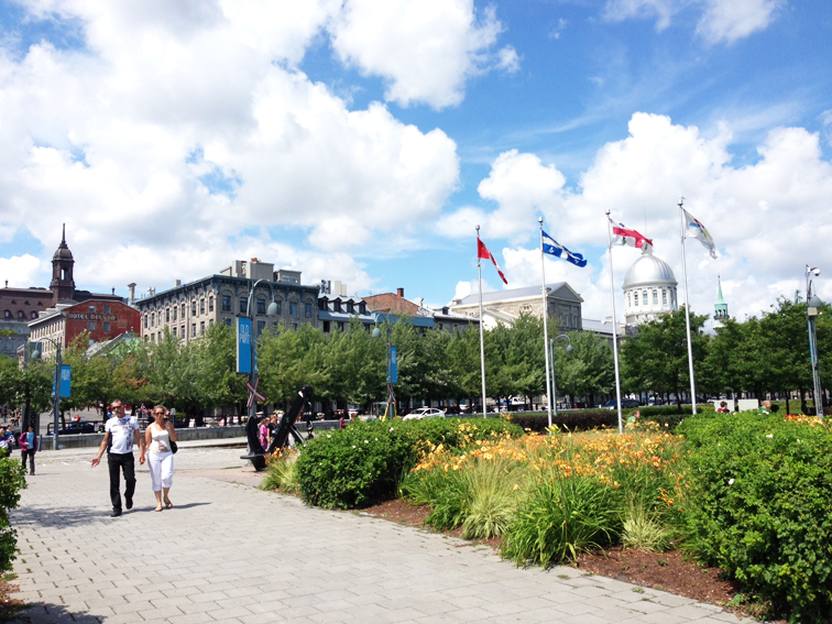 Montreal Old Port Summer
