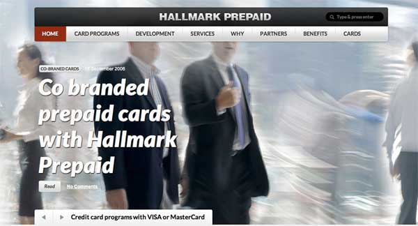 hallmark prepaid cards and prepaid card programs