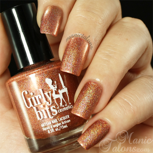 Girly Bits Lacquer I'm Your Venus Swatch