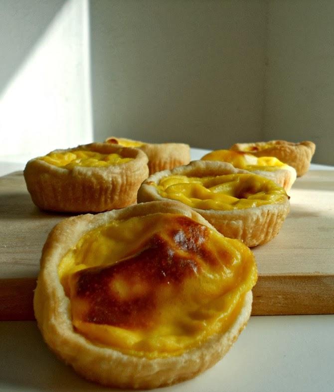 tart di crema pasticcera - custard portuguese tart - egg tart