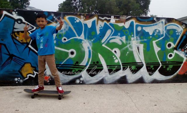 Aktiviti SkateBoard di Extream Park,Shah Alam