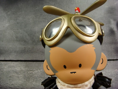 Copter Boy Custom Munny Vinyl Figure by Huck Gee
