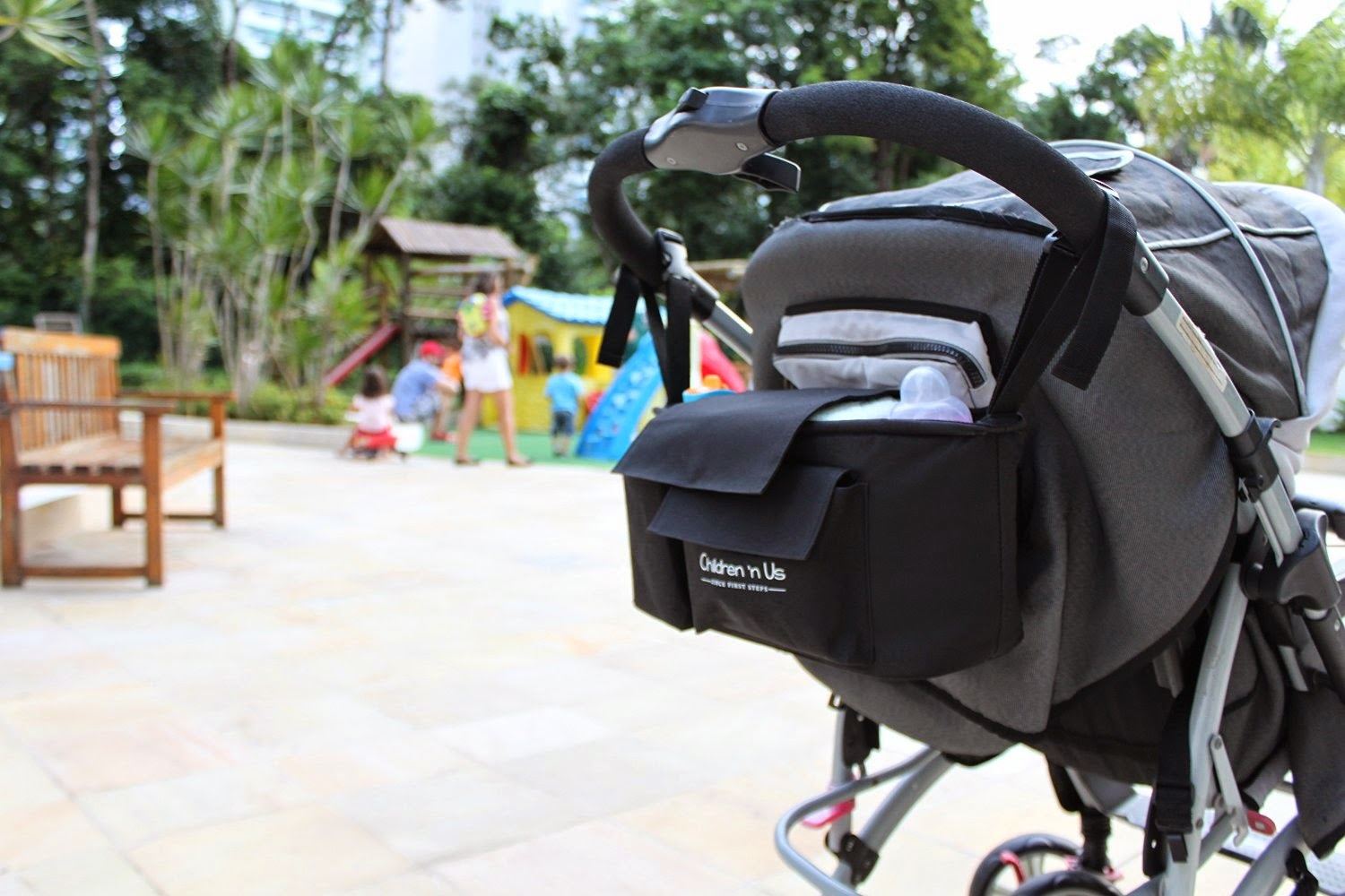 Children 'n Us  offers one of the largest Stroller organizer's of the Market!