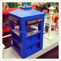 southern bricks lego show - lego tardis