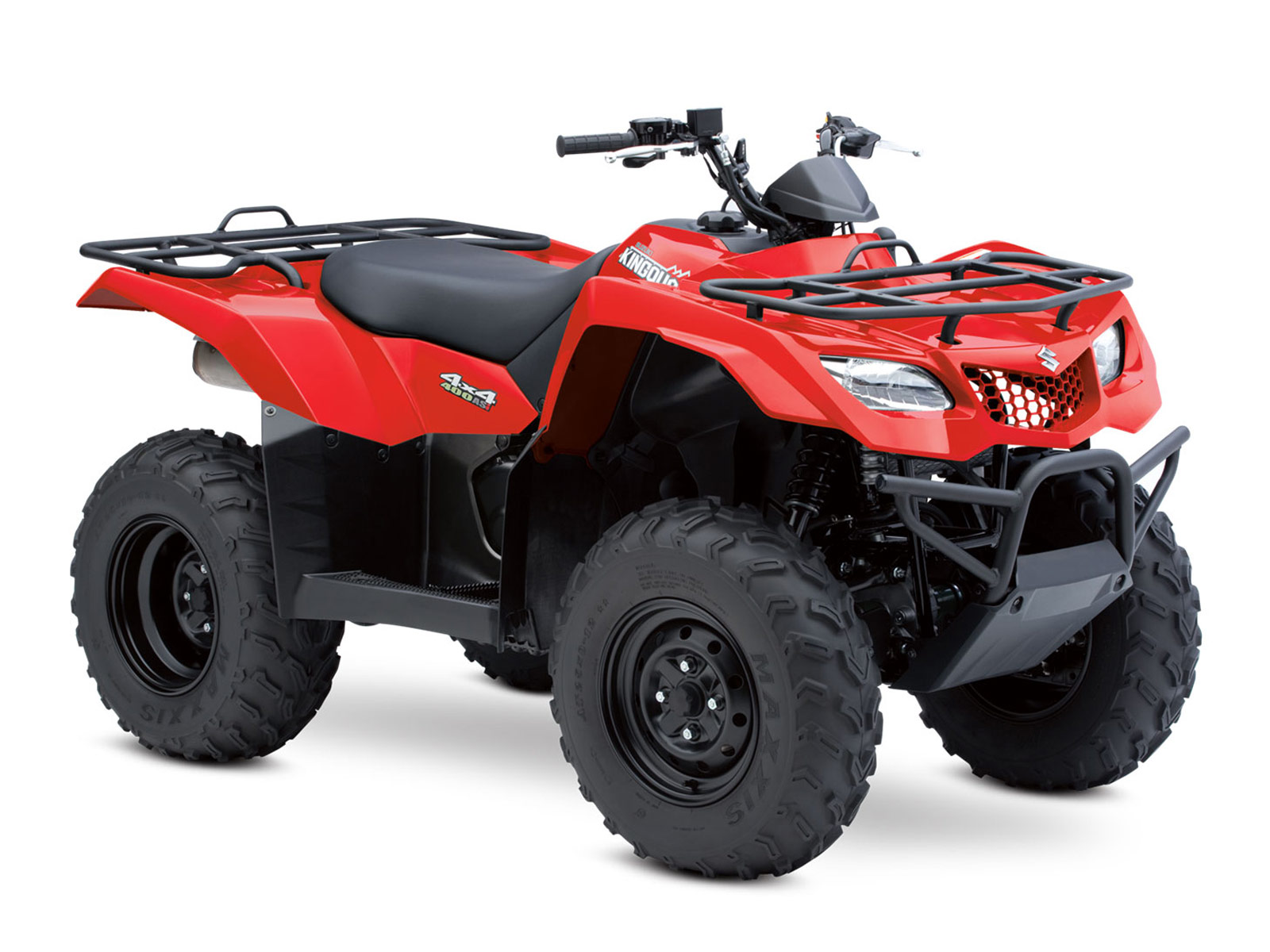 2012 suzuki kingquad 400asi atv pictures. Black Bedroom Furniture Sets. Home Design Ideas