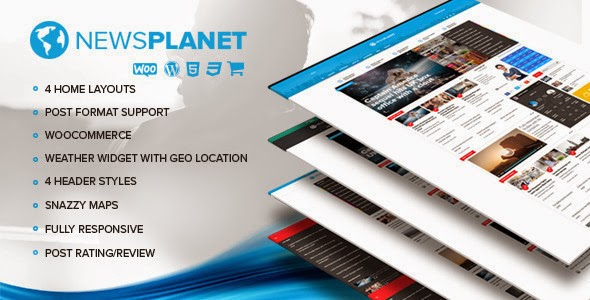 NewsPlanet : Best WordPress News Blog Theme with WooCommerce : eAskme