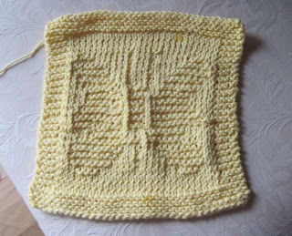 butterfly washcloth