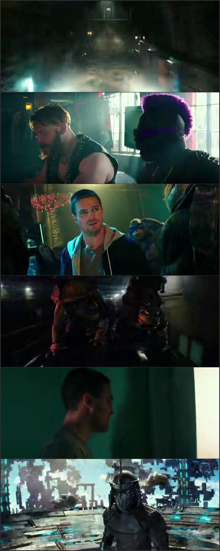 Screen Shot Of Teenage Mutant Ninja Turtles: Out of the Shadows 2016 In Hindi English Dual Audio Bluray
