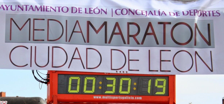 Clasificaciones Media Maraton Leon