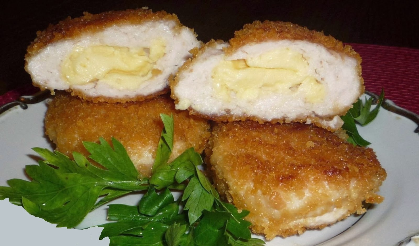 Куриные котлеты внутри с сыром пошаговый рецепт