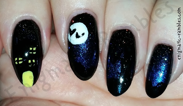 haunted-house-nails-nail-art