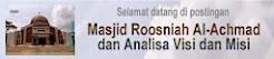 Masjid Roosniah Al-Achmad dan Analisa Visi dan Misi