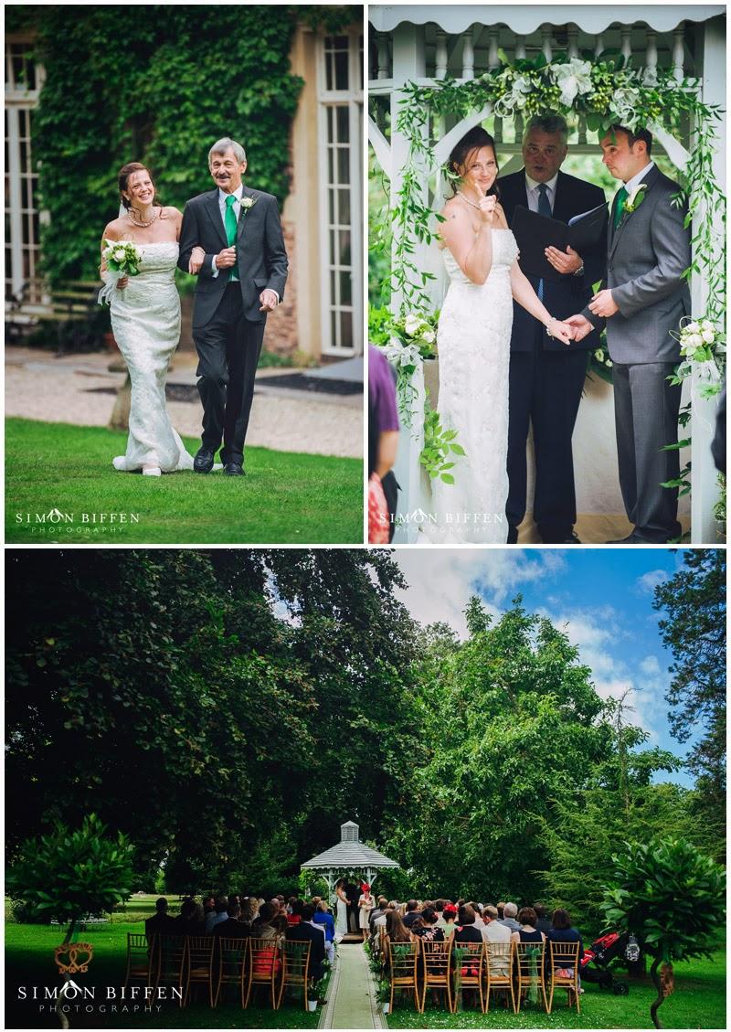 Maunsel house wedding ceremony