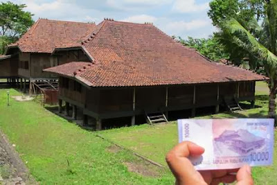 Nah, Inilah Rumah Asli di Uang 10 Ribu Rupiah