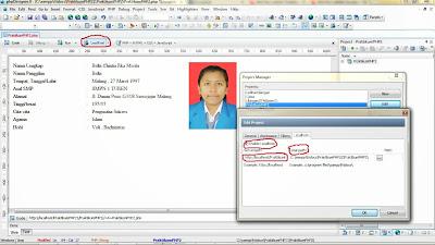 project manager sebelah kanan --> new --> isi project title --> tempatkan pada folder yang telah anda buat --> next --> finish