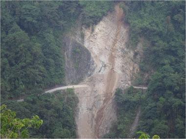 Trabajos para perfilar la montaña en La Roca supera los 30 millardos de bolívares