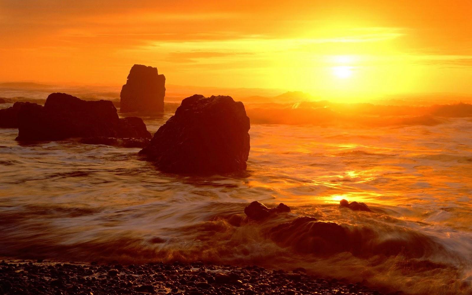 hermosos amaneceres en la playa   beautiful sunrises hot