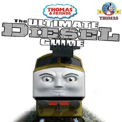 Cool childrens picture Ultimate Guide book Thomas and his friends Day of the Diesel DVD characters