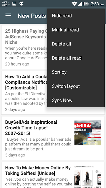 bloggingehow android app