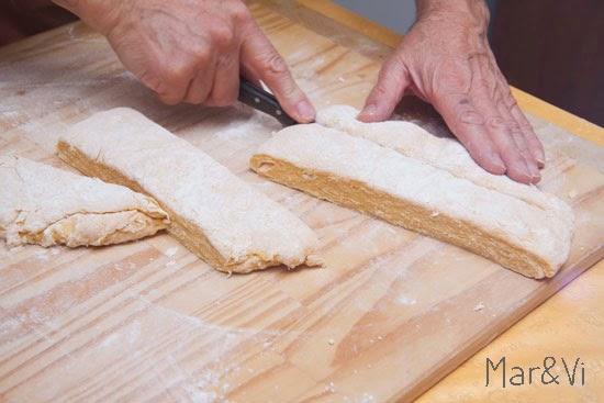 receta casera: pasta hecha en casa
