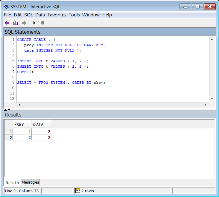 Example: CREATE EXISTING Proxy Table On HANA ...