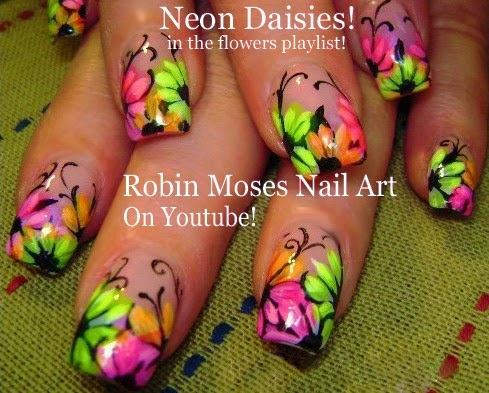 Robin moses nail art april 2015 hot nail art playlist easy nail art tutorials fierce nail design ideas for beginners to advanced nail techs prinsesfo Images