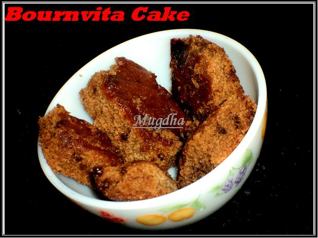 Bournvita Cake With Egg