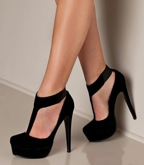 Gorgeous Black High Heels Stiletto Shoes for Stylish Women