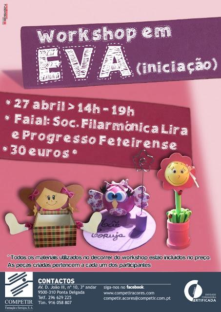 Workshop em Eva (iniciação) – Faial