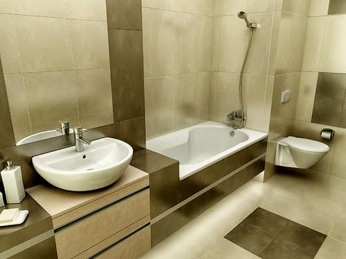 cara mendesai kamar mandi yang cantik gambar elegan
