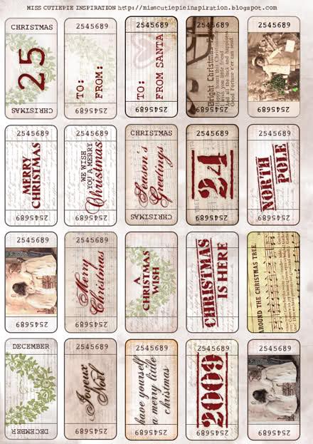 ingyenesen letölthető karácsonyi címke