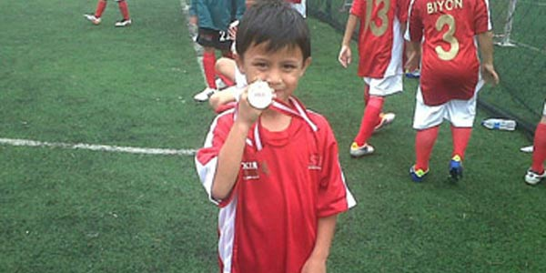 Video Tristan Alif Naufal The Next Lionel Messi dari Indonesia