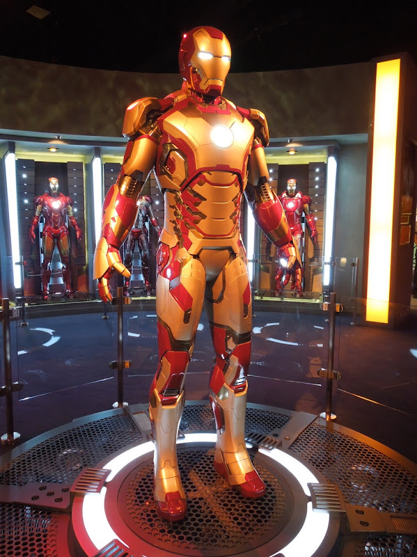 Iron Man 3 Mark XLII armour