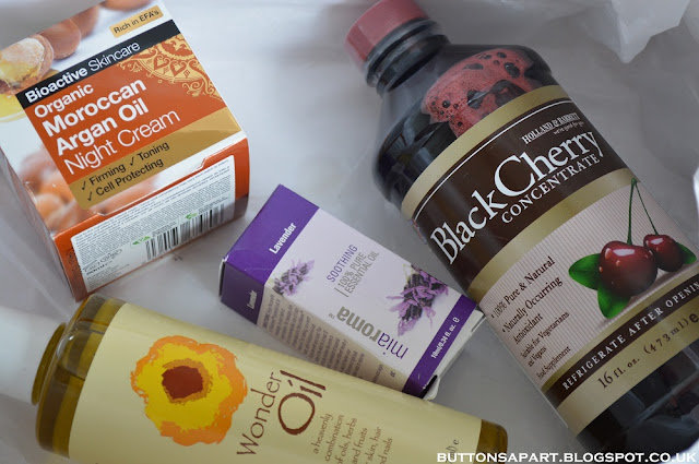 a picture of holland and barrett's beauty box