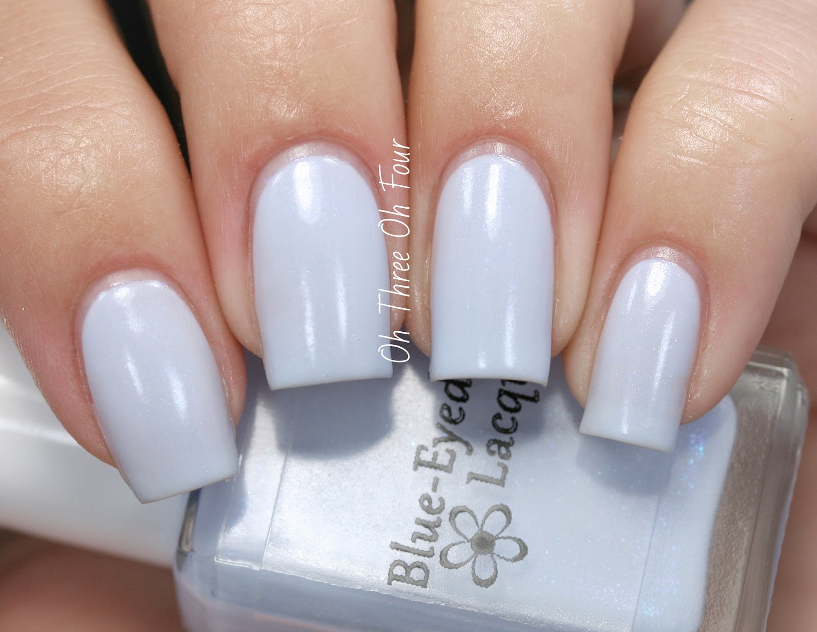 Blue-Eyed Girl Lacquer Hydrangea Swatch