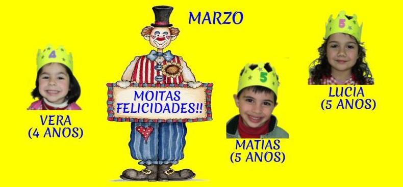 ANIVERSARIOS DE MARZO