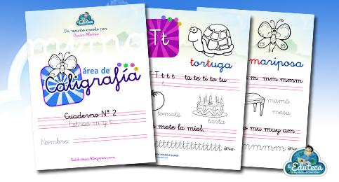 MIS COSAS DE MAESTRA Cuadernos de escritura para imprimir