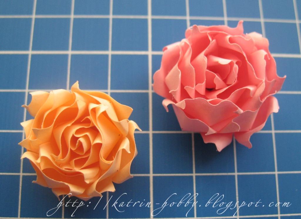 Как с бумаги для квиллинга сделать розу 195