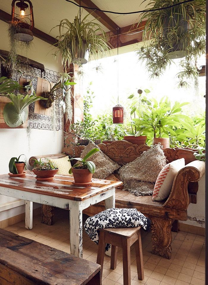 Babylon sisters bohemian gypsy decor - Plant decorating ideas tasteful nature ...