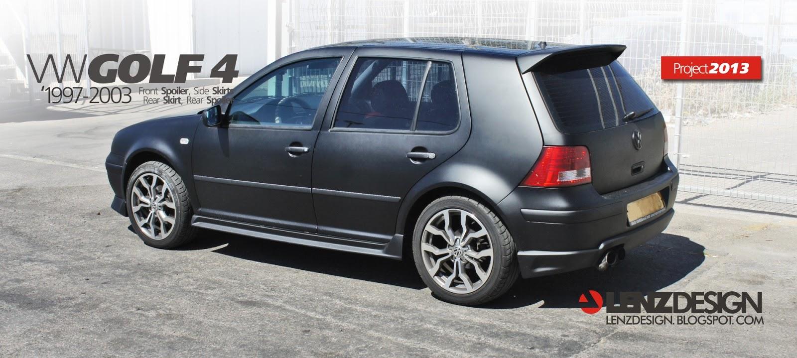 Vw Golf 4 Tuning Lenzdesign שיפורים חיצוניים לרכב Auto Cars Benz