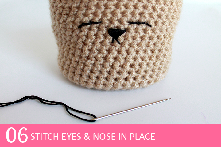 Tutorial: Spring Bunny Crochet Planter Cover |The Inspired Wren