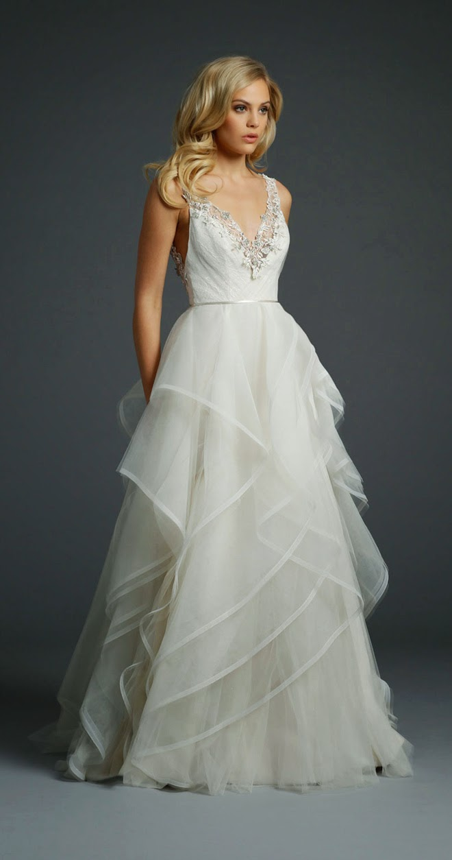 Alvina valenta fall 2014 bridal collection belle the for Alvina valenta wedding dress