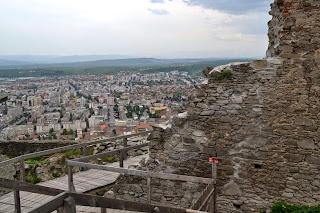 La sud de cetatea Deva