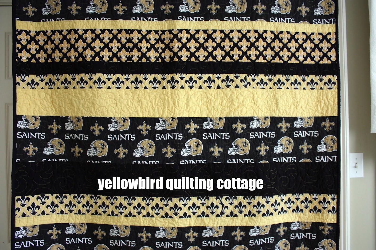 Yellow Bird Quilting Cottage: Saints Quilt