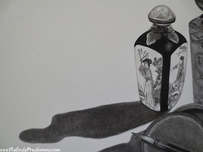 charcoal drawing, charcoal artist, travel art, travel artist, china art, asian art, travel, still life art, malinda prudhomme, original artwork
