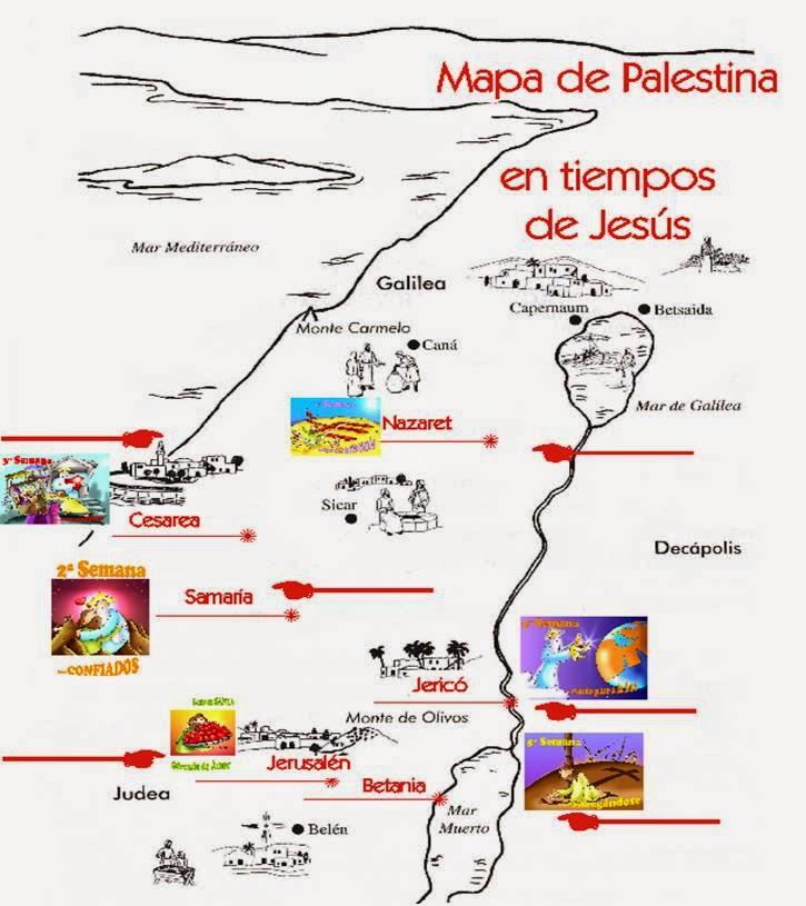Mapas Biblicos en ppt